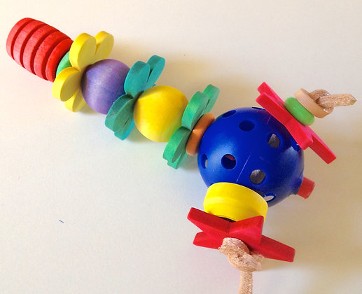 Birdtalk Bird Toys - Dressed Honeydipper