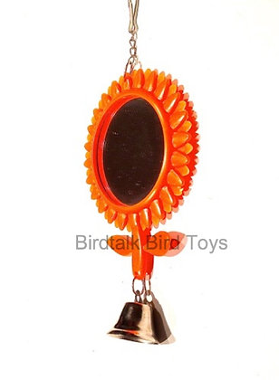 Birdtalk Bird Toys - Sunflower Mirror