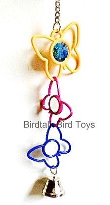 Birdtalk Bird Toys - Butterfly Mirrors