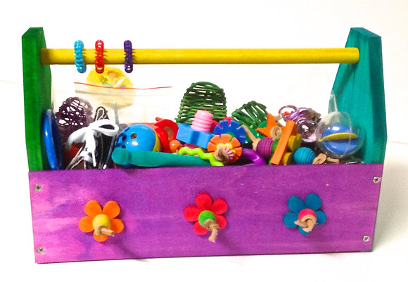 Birdtalk Bird Toys - Toy Box