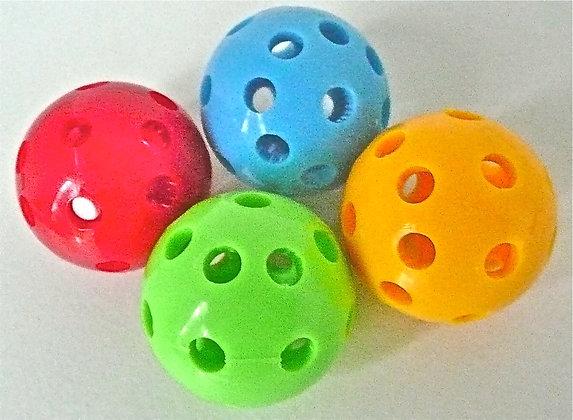 Birdtalk Bird Toys - 1 Mini Whiffle Ball