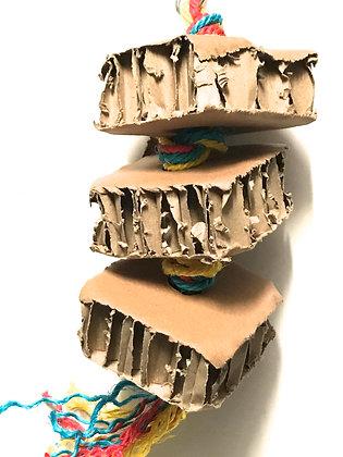 Birdtalk Bird Toys - Cardboard Stack