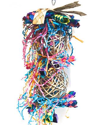 Birdtalk Bird Toys - Stuffed Vine Balls