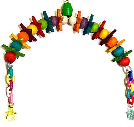 Birdtalk Bird Toys - Rainbow Bridge of Stars