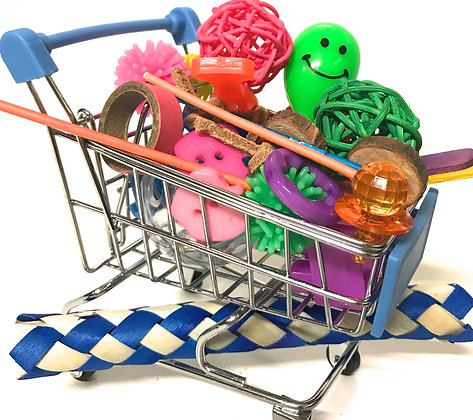 Birdtalk Bird Toys - Shopping Trolley