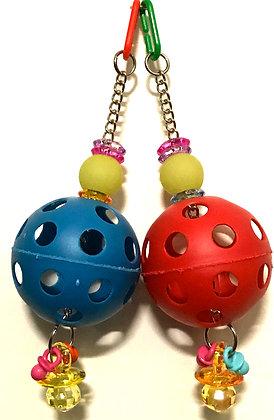 Birdtalk Bird Toys - 1 Plastic Ball Toy Base