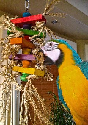 Birdtalk Bird Toys - Crazy Slats