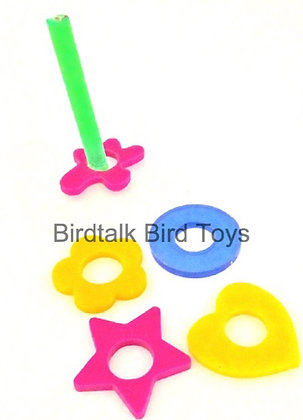 Birdtalk Bird Toys - Ring Puzzle Toy