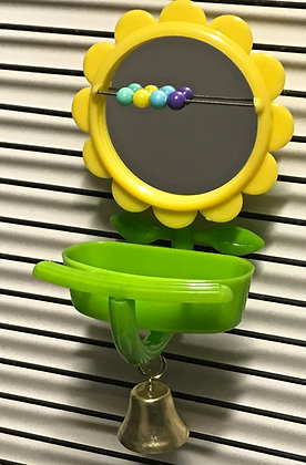 Birdtalk Bird Toys - Sunflower Mirror