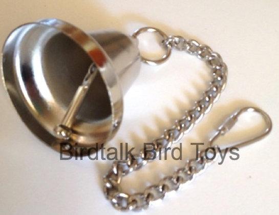 Birdtalk Bird Toys - 52mm Liberty Bell with Hardware