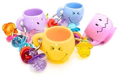 Birdtalk Bird Toys - Happy Mug Foot Toy