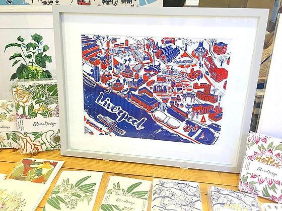 Olivia Brotheridge: UK printmakers, Independent makers, Independent crafts, UK Makers