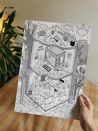 Skum Club: UK printmakers, Independent makers, Independent crafts, UK Makers