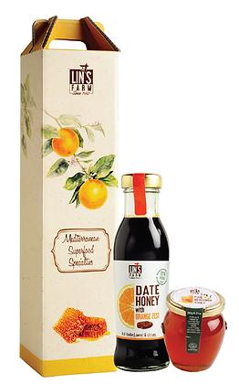 Sweet Orange Decorative Gift Box