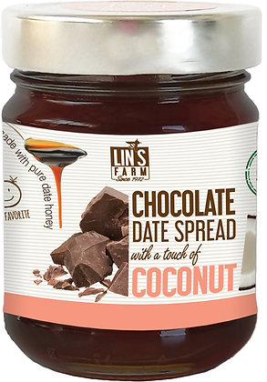 Chocolate Date Butter with a touch of Coconut