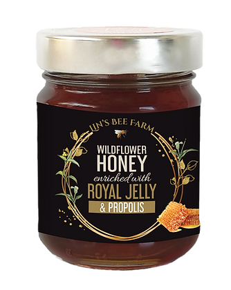 Wildflower Honey with Propolis & Royal Jelly