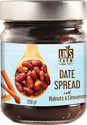 Date Spread with Walnuts & Cinnamon