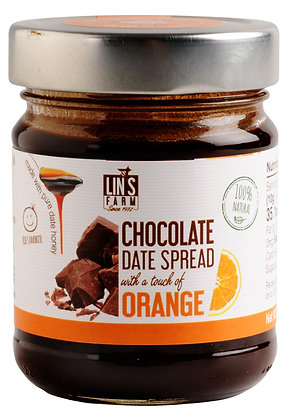 Chocolate Date Butter with a touch of Orange