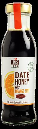Date Honey with Orange Zest