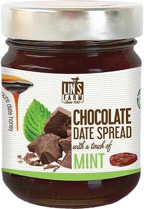 Chocolate Date Butter with a touch of Mint