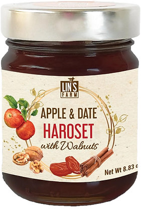 Apple & Date Haroset with Walnuts