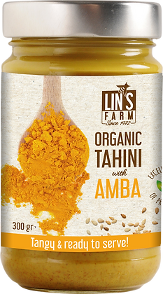 Organic Tahini with Amba