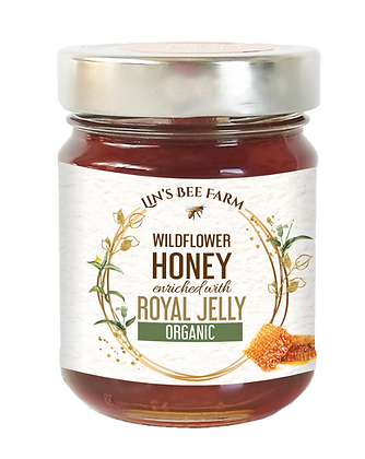 Organic Wildflower Honey with Royal Jelly