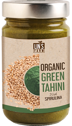 Organic Green Tahini with Spirulina