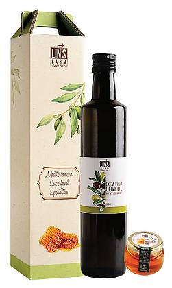 Mediterranean Olive Decorative Gift Box
