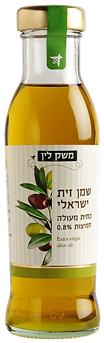 שמן זית ישראלי כתית מעולה