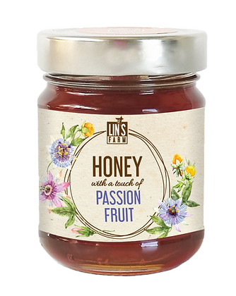 Honey with a touch of Passion Fruit