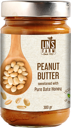 Peanut Butter with Date Honey