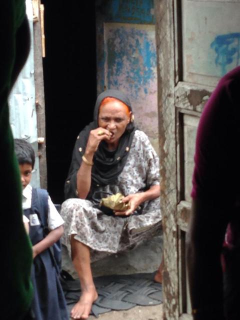 Kalwa slum, Mumbai. 2014
