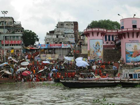 Ganges River, Varanasi, India. 2014