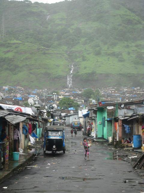Kalwa slum, Mumbai, India. 2014
