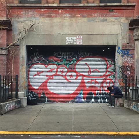 Alphabet City, New York City. 2017