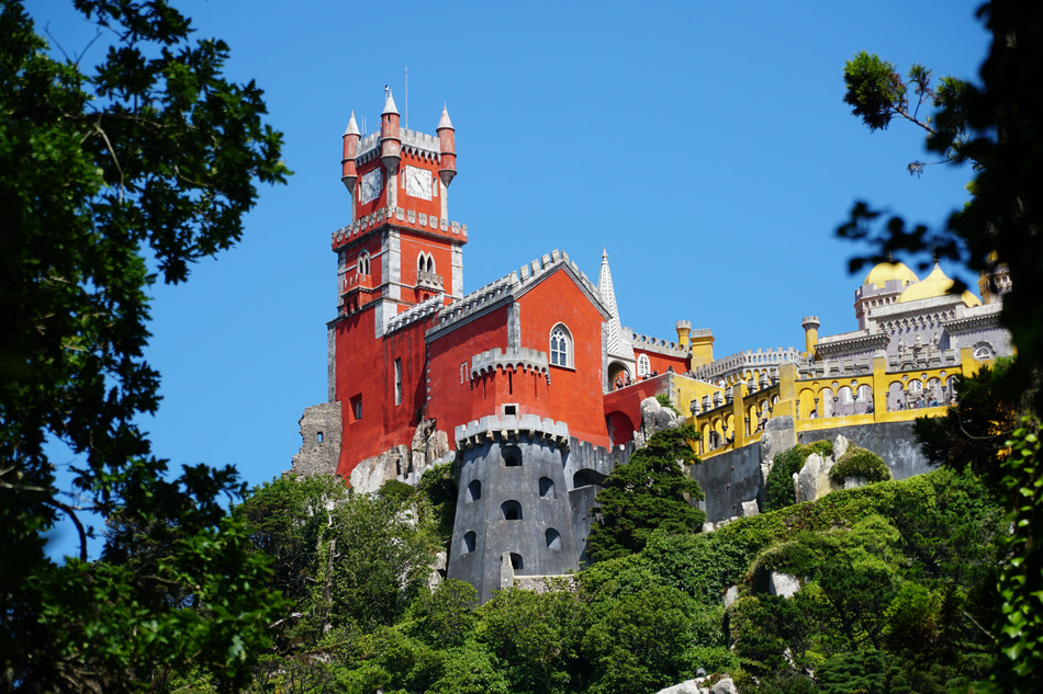 Pena Palace, Sintra, Portugal. 2019