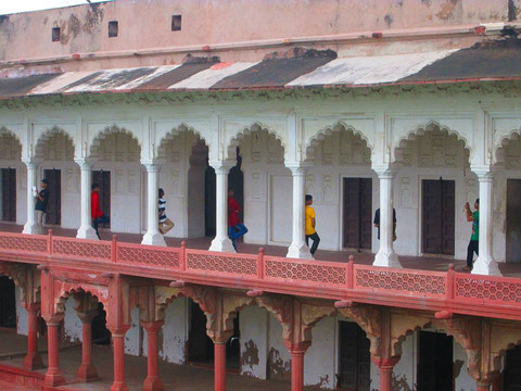 Agra Fort, Agra, India. 2014