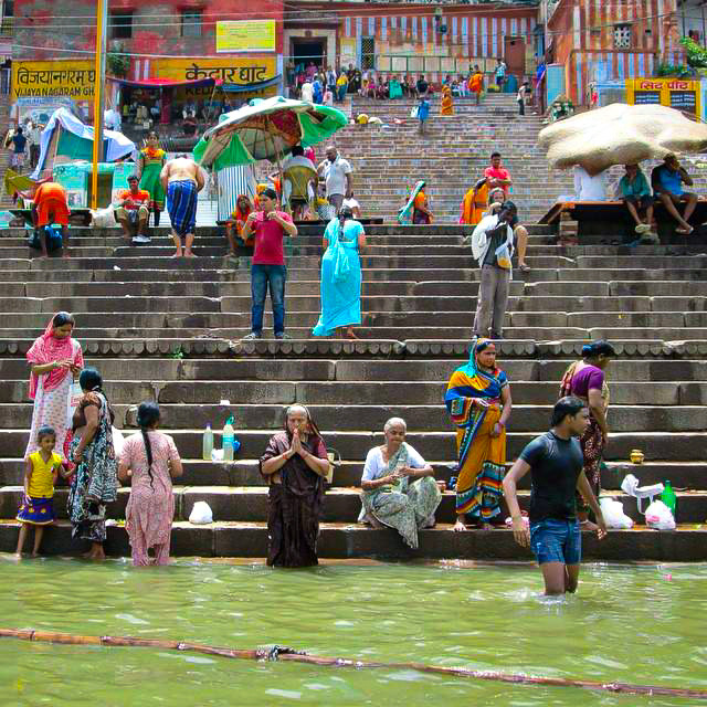 Varanasi, India. 2014