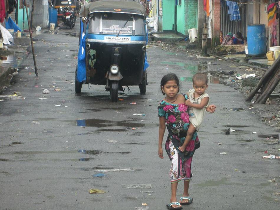 Kalwa Slum, Mumbai. 2014.