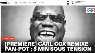 Pan-Pot - Riot (Carl Cox Remix) Track Premiere