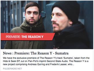 Pulse track premiere: The Reason Y - Sumatra