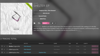 Clint Stewart's Shelter EP Out Now!