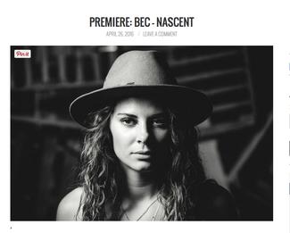 Big Shot Premiere: Bec - Nascent (Relentless EP)