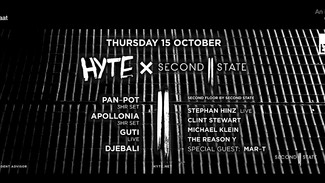 Second State x Hyte at ADE 2015 with Pan-Pot, Stephan Hinz, Clint Stewart, The Reason Y, Michael Kle