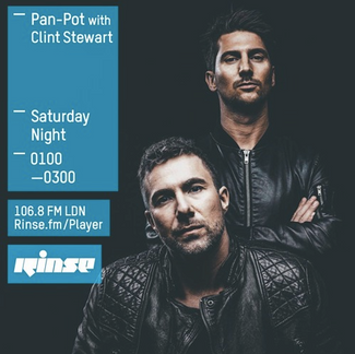 Rinse FM Podcast - Pan-Pot w/ Clint Stewart - 12th March 2016