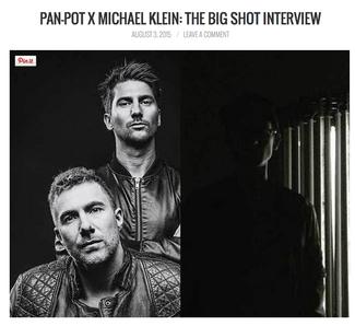 Pan-Pot and Michael Klein: The Big Shot Interview
