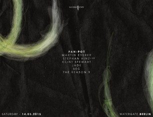 Pan-Pot presents Second State at Watergate Club, March 14th