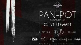 Pan-Pot present: Second State first label showcase at Electric, Paris on March 6th, 2014