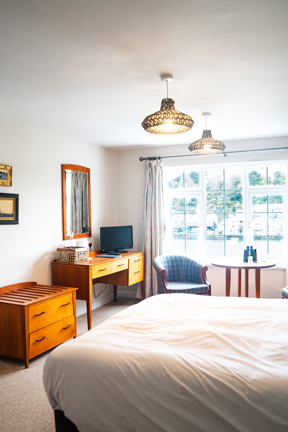 Accommodation room at The Old Ferry Inn,